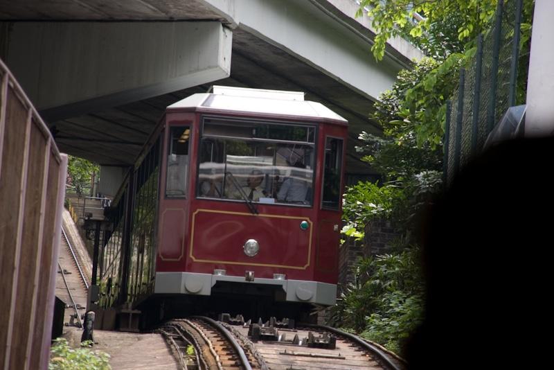 Sehenswürdigkeiten in Hong Kong Peak Tram