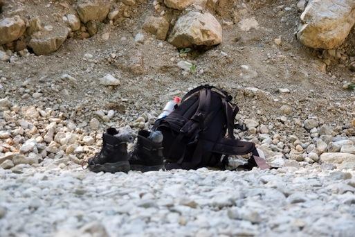 Wandern am Tegelberg: In der Pöllatschlucht