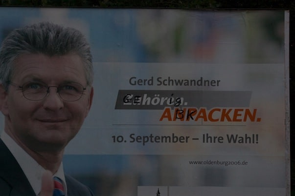 Gerd Schwandner: Gehörig abkacken