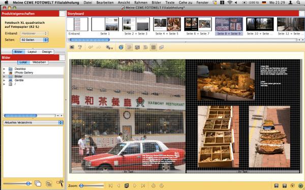 Software von Cewe Fotobuch