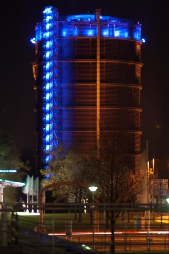 Gasometer Oberhausen im Ruhrgebiet