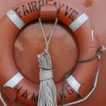 Rettungsring der Fairplay VIII