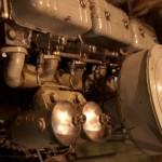 Der Dieselmotor der Fairplay VIII
