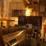 Blick in den Maschinenraum der Fairplay VIII