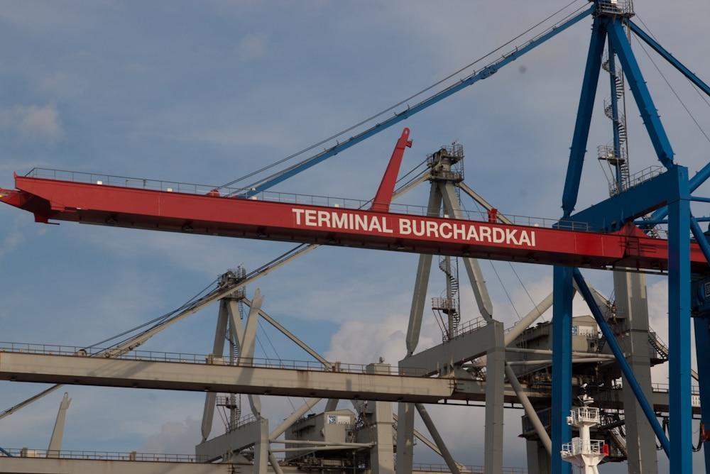 Das Terminal Burchardkai