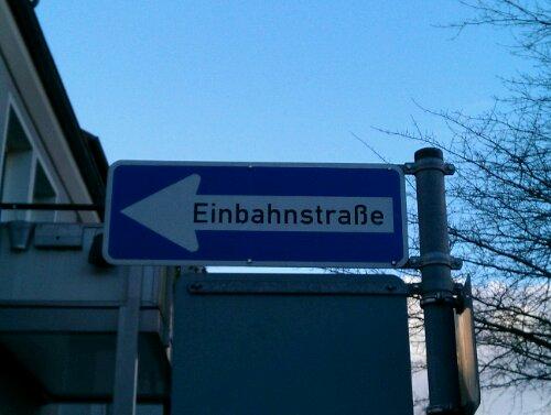 demoninator neglect einbahnstraße