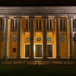 Bezirksregierung Oldenburg bei Nacht