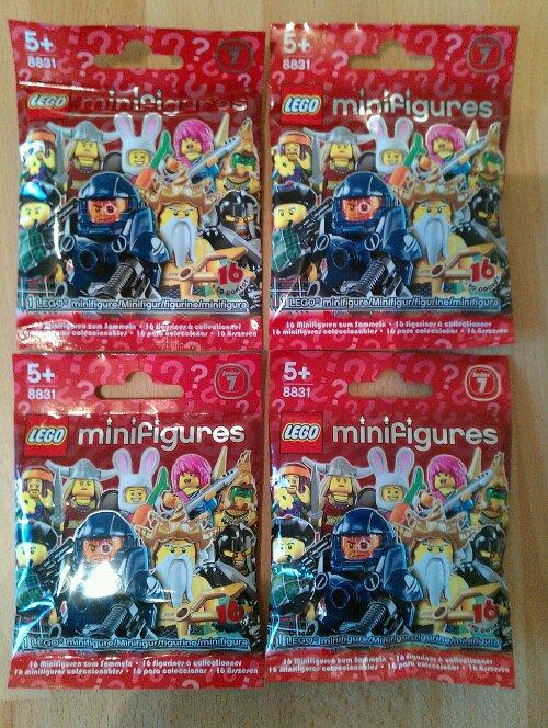 Lego Series 7 Minifiguren