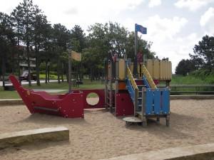 Spielplatz St. Peter-Ording Strandpromenade