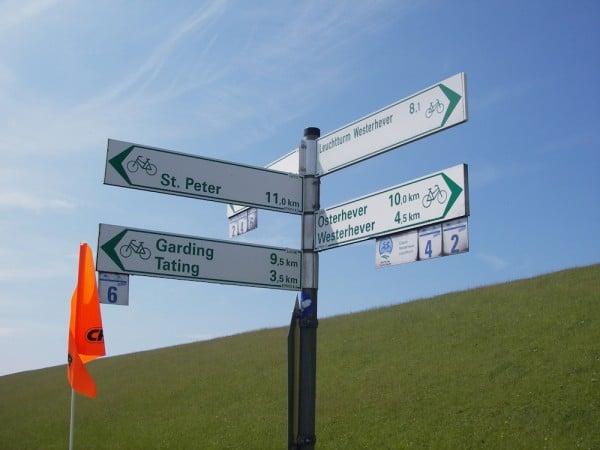 Radtour Sankt Peter Ording nach Westerhever Leuchtturm