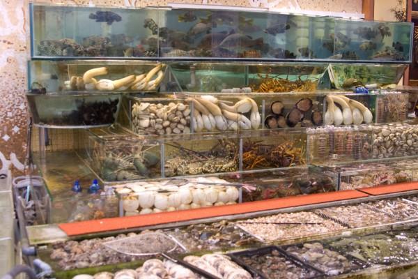 Sai Kung Fischrestaurants Seafood