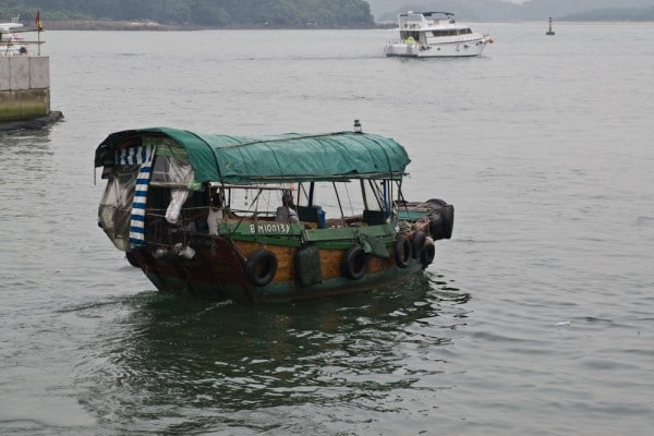 Fischerboot in Sai Kung
