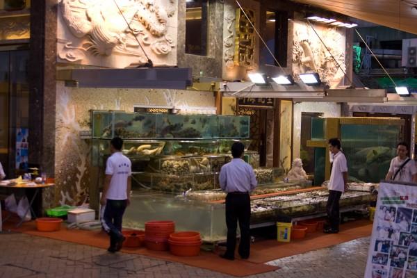 Fischrestaurant in Sai Kung