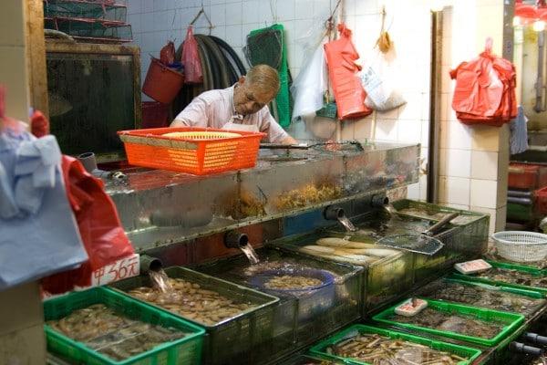 Fischmarkt in Sai Kung