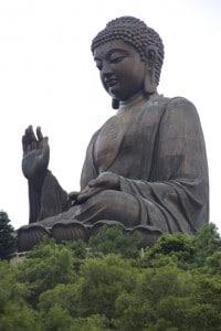 Tian Tan Buddha Statue in Hong Kong Lantau Peak