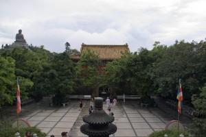 Po Lin Kloster auf Lantau Island, HK