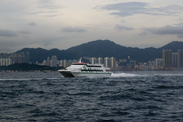 Speed Ferry zur Discovery Bay Hong Kong