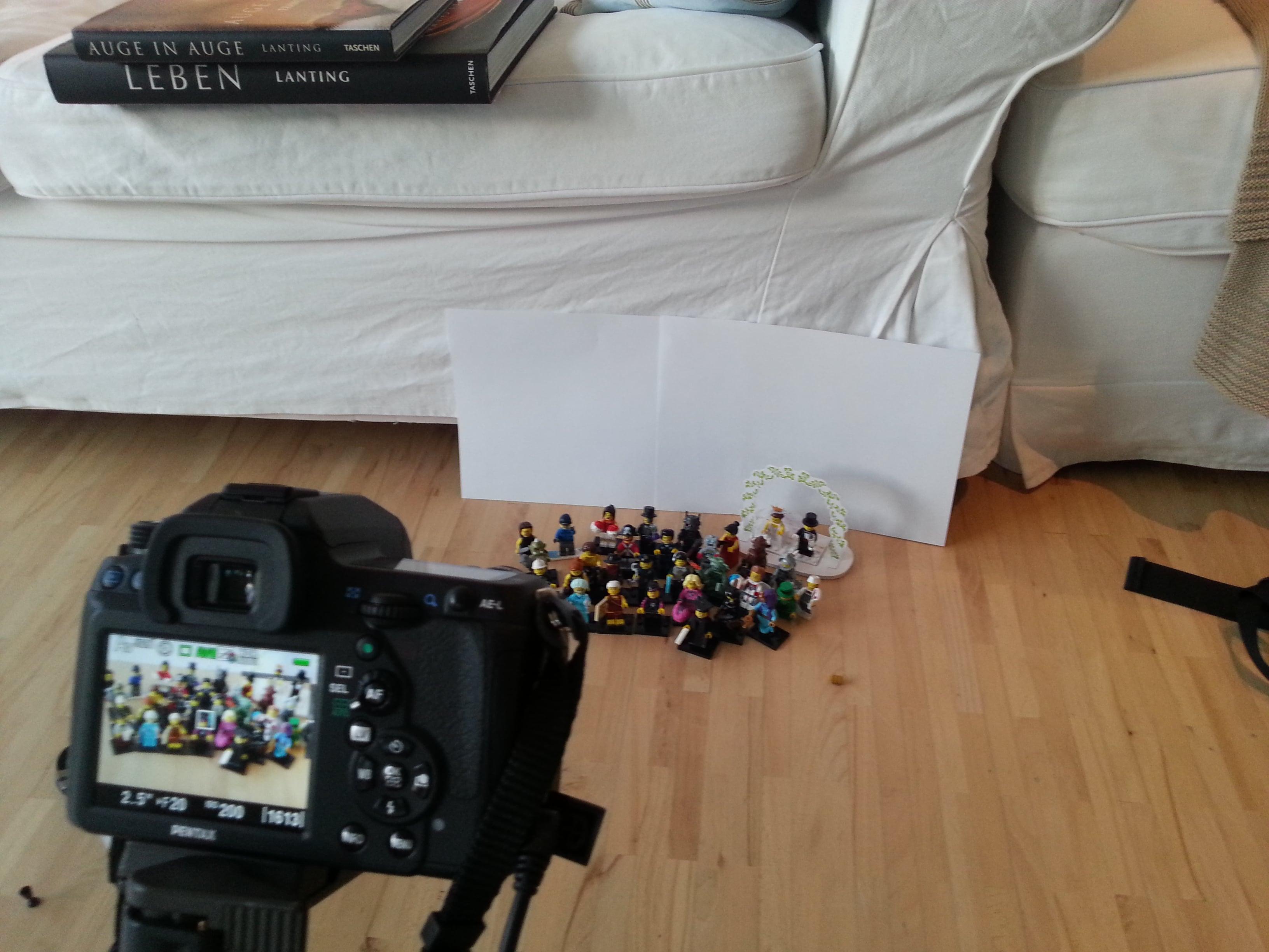 Lego in 50mm fotografiert (Sigma Makro 50mm f2,8)