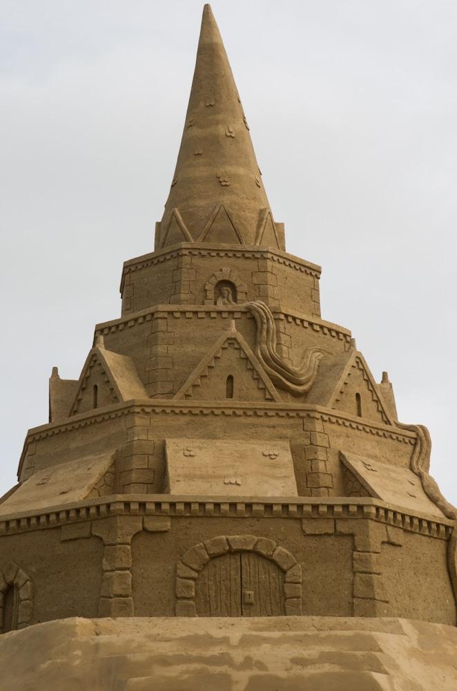 Die größte Sandburg der Welt in Sankt Peter-Ording