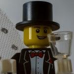 Lego Figur Bräutigam