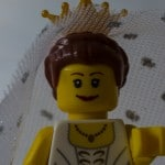 Lego Figur Braut