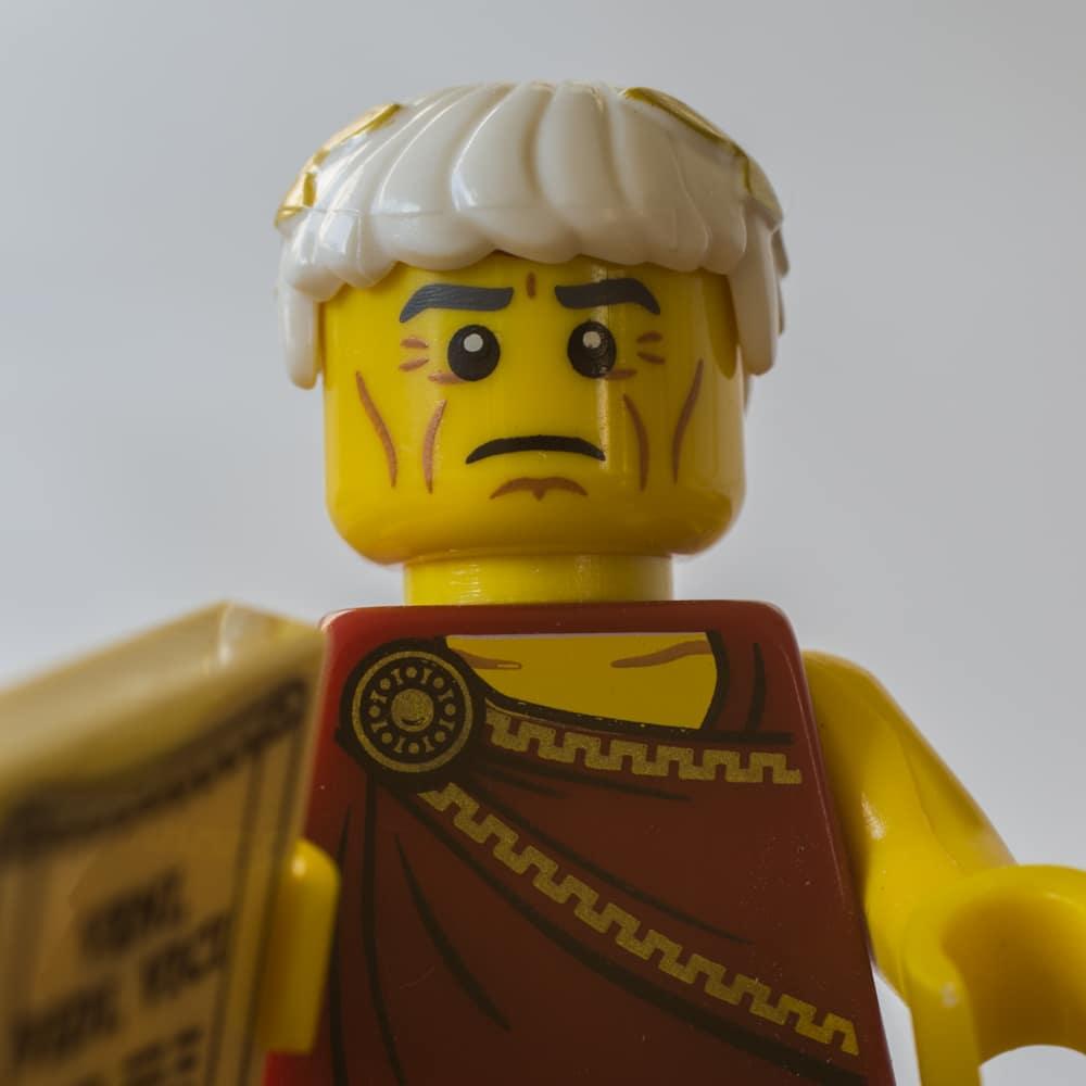 Lego Figur Cäsar