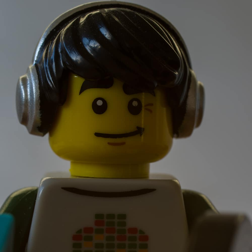Lego Figur DJ