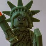 Lego Figur Freiheitsstatue