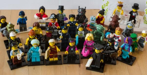 Lego Figuren Gruppenfoto