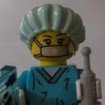 Lego Figur Krankenschwester
