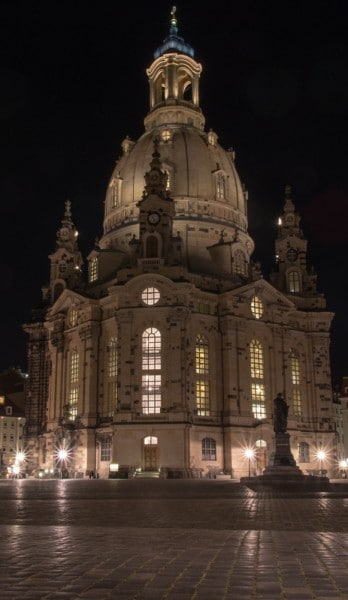Dresden Frauenkirche mit Joby Gorillapod SLR fotografiert