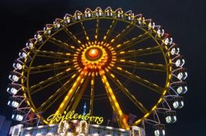 Riesenrad auf dem Hamburger Dom