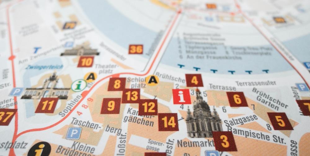 Dresden Stadtrundfahrt per Fahrrad