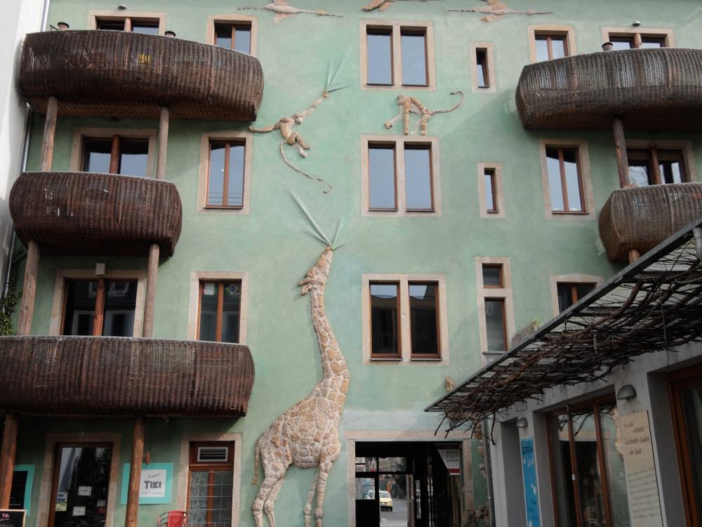 Der Hof der Tiere in der Kunsthofpassage Dresden Neustadt