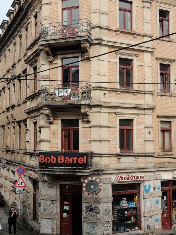 Die äußere Neustadt in Dresden