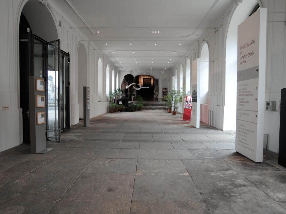 Das Japanische Palais in der inneren Neustadt Dresdens