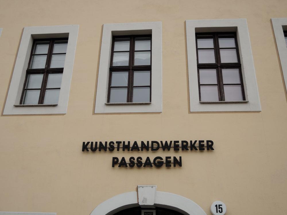 Kunsthandwerker-Passagen in Dresdens Neustadt