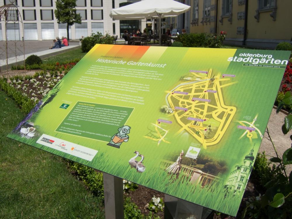 Die Oldenburger Stadtgärten sind mittlerweile zu einer Institution geworden.