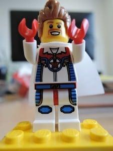 Held der Arbeit: Pomodoro mit Lego