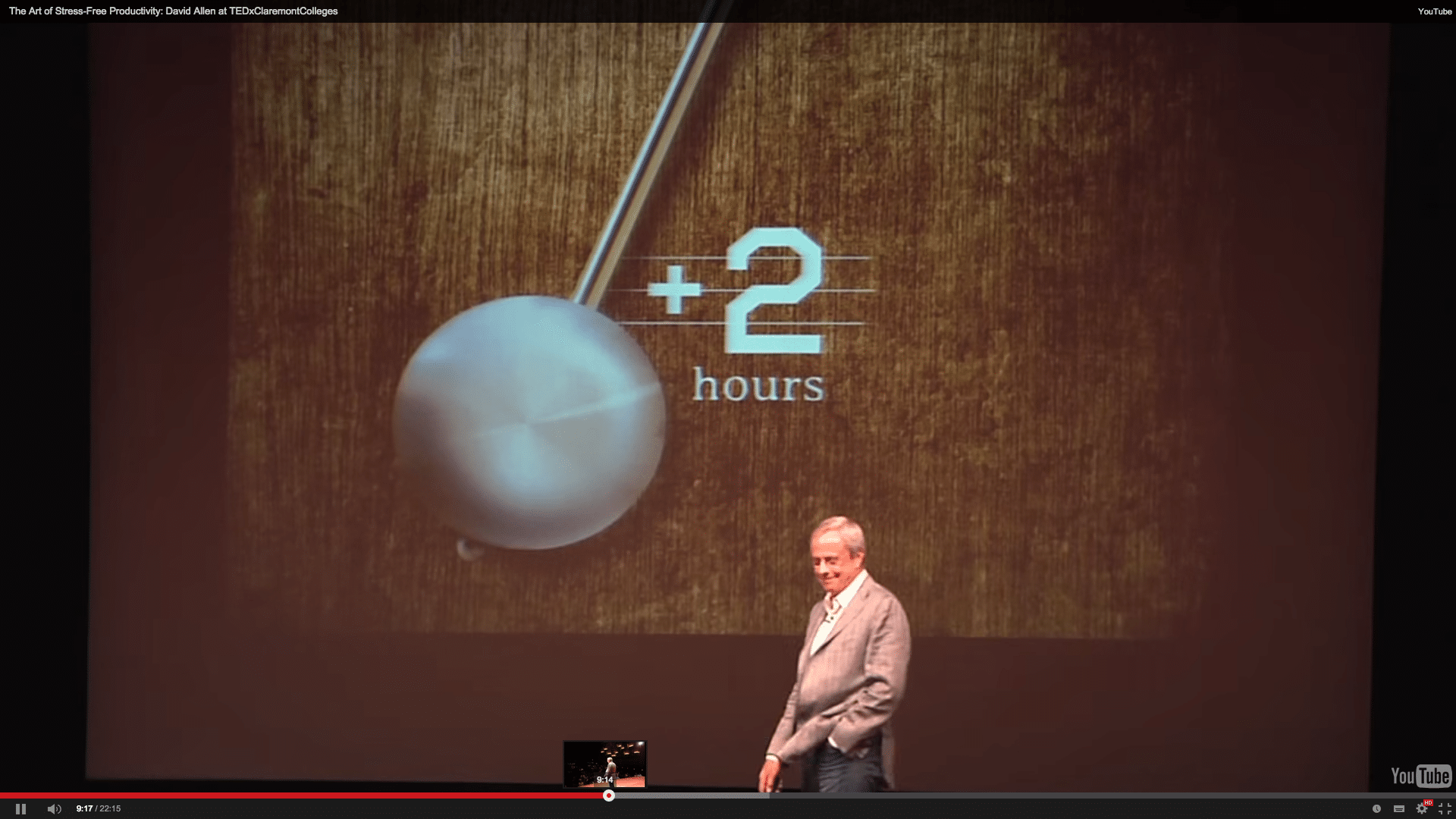 David Allen TED Talk plus 2 hours