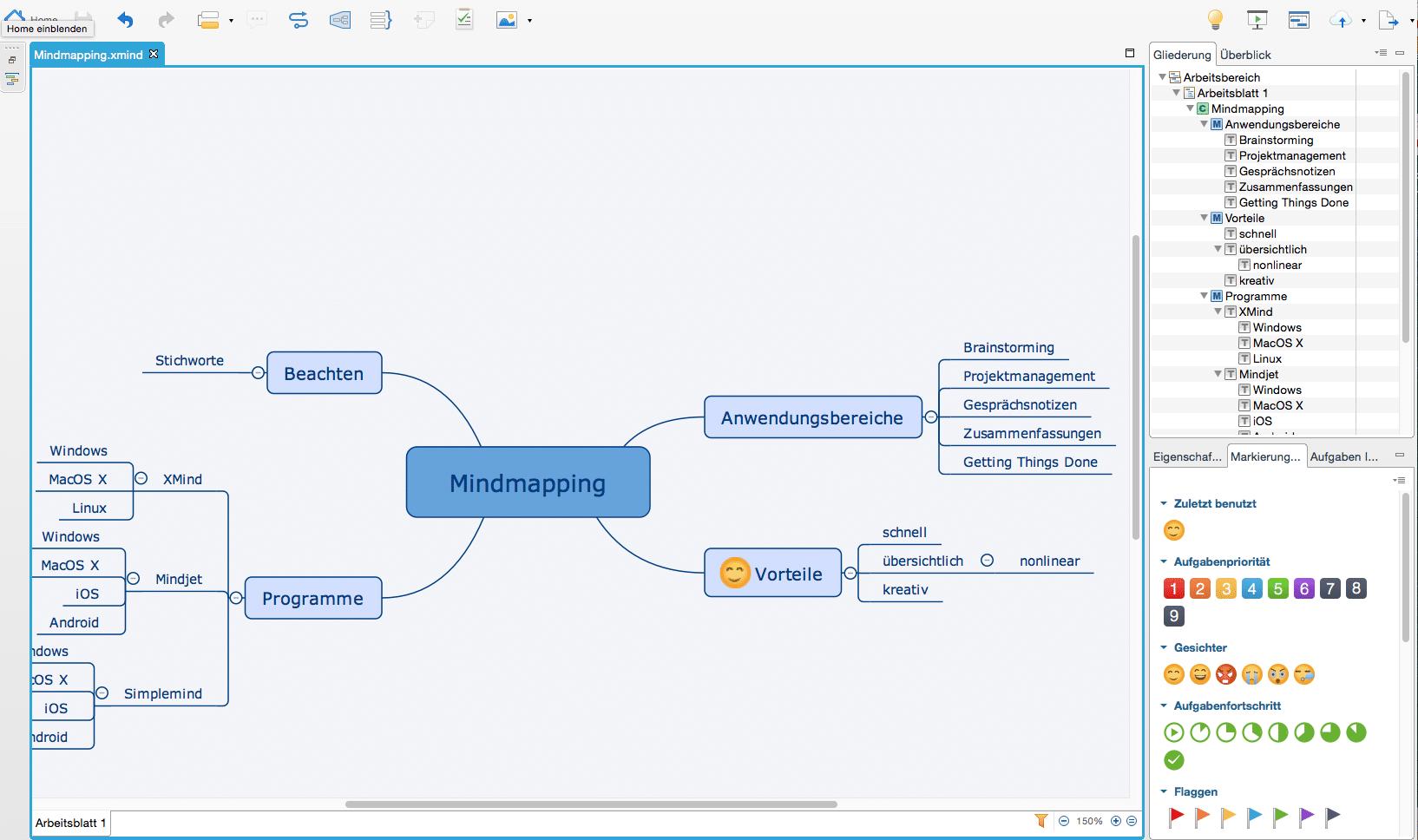 Mindmaps: Vorteile, Anwendung, Möglichkeiten