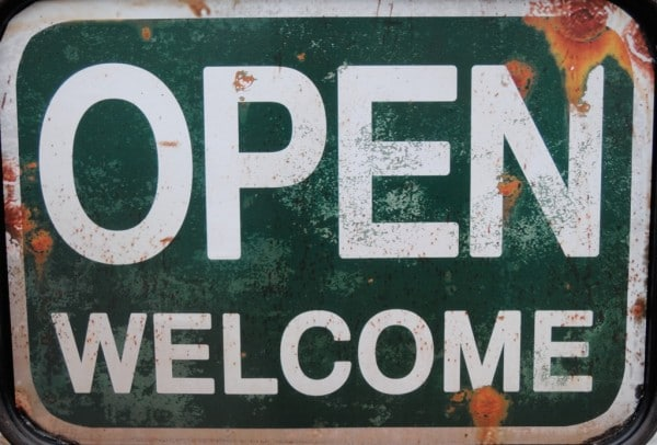 Open - Welcome